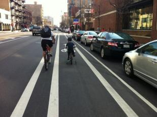 Bike Lane on Wabash