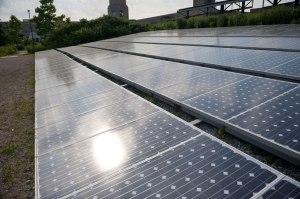 CCGT solar panels
