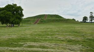 Monks Mound at Cahokia Mounds