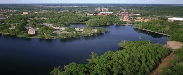 SIU campus in Carbondale, IL (courtesy SIU website)