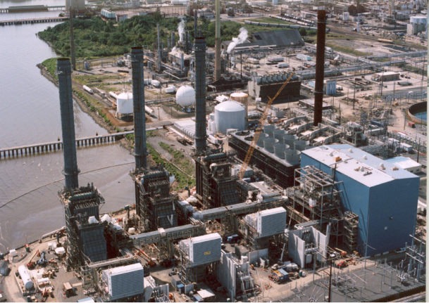 Marcus Hook power plant PA
