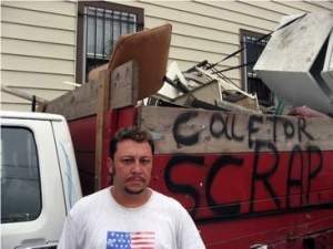"""Scrappers,"" a 2010 documentary film depicting the struggles and challenges faced by two men in Chicago as they cruise the city's alleys looking for metal -- one of the many subjects discussed in SUST 240 Waste"