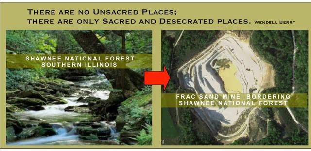 Shawnee NF and Frac Sand Mine