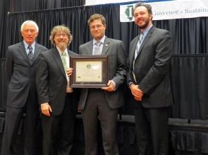 RU 2013 Gov's Award for Sustainability