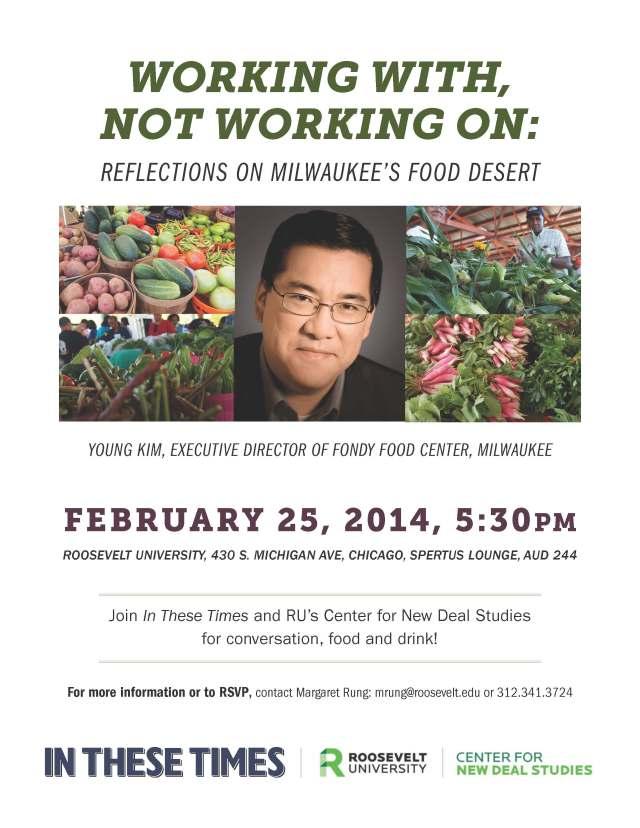 Food Justice Lecture at RU 2014-02-25