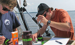 REU research on Lake Champlain