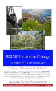 SUST 390 Sustain Chgo 2014Sum Flyer v2