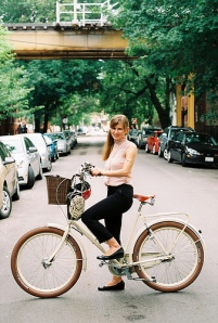 Bike and Girl