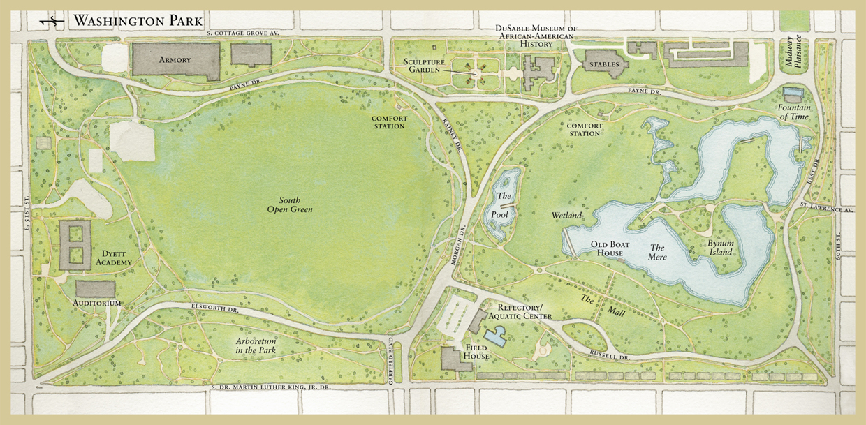 Chicago Parks Map Should Obama Library Be Built in a Public Parkland? Chicago Park