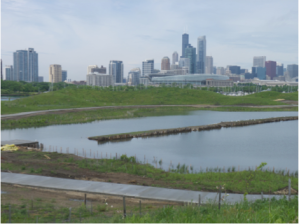Southern portion of Northerly Island, Spring 2015 (photo: L. Miller Hill)