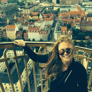 SUST major Shannon Conway in Copenhagen, Denmark, Summer 2015