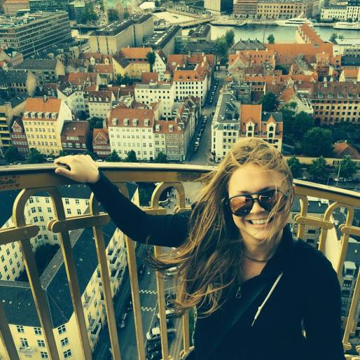 SUST major Shannon Conway in Copenhagen, Denmark, Summer 2015