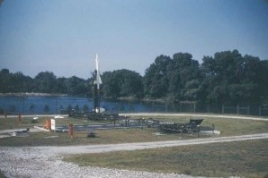 Site C-41 Fuel pit at the lagoon around 1955-1957. Jackson Park, IL. Source: Ed Thelen