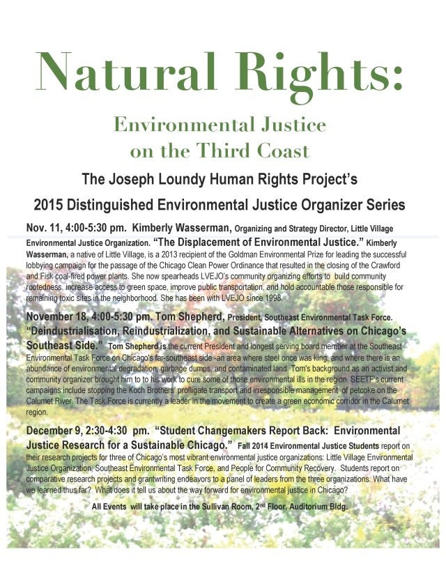 Just by Nature JLP Lecture Series 2015Fall