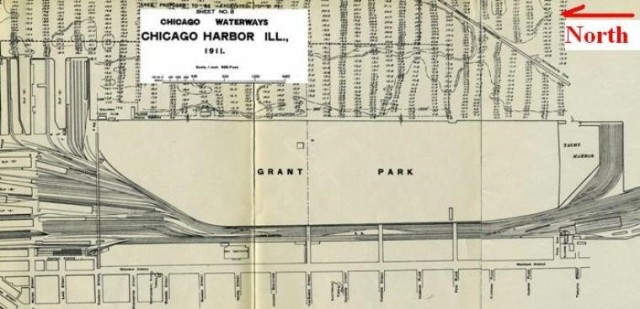 Chicago Harbor. 1911 Source: Chicago Harbor and Adjacent Waterways