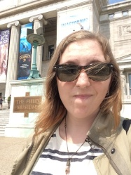 Lindsey Sharp at the Field Museum of Natural History, Chicago IL (Nov 2015)