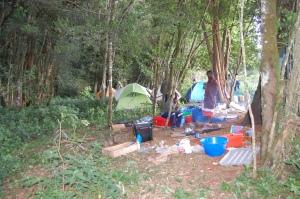 Loita Forest camp (J. Kerbis 2015)