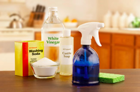Non-toxic home cleaning (Source: Eartheasy.com)