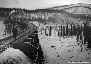 Alaska Railroad Trestle (Source: nps.gov)