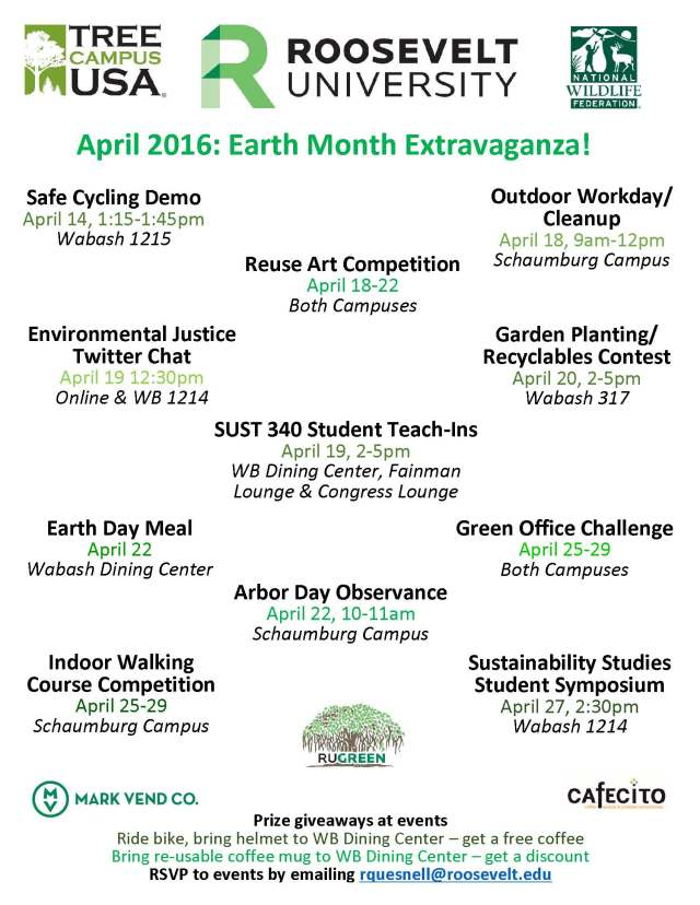 Earth Month Flyer RU 2016