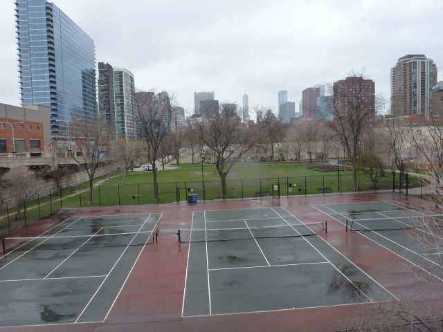 Tennis Courts and Housing