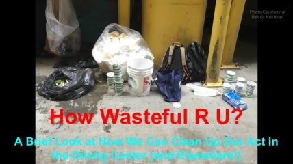 Waste presentation title slide