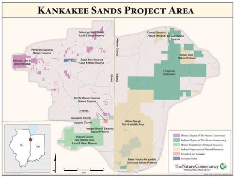 Kankakee-sands-bi-state-map TNC