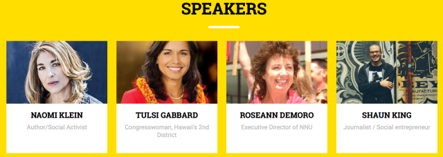 People's Summit 2016 Chicago speakers