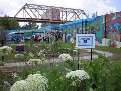 Englewood Heritage Station comm garden